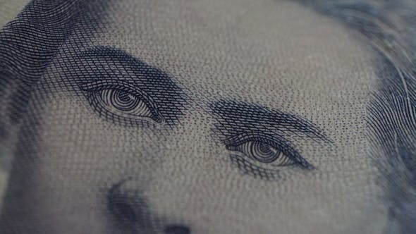 Thumbnail for 200 Hryvnia Ukrainian Banknote Stop Motion, Looped Video