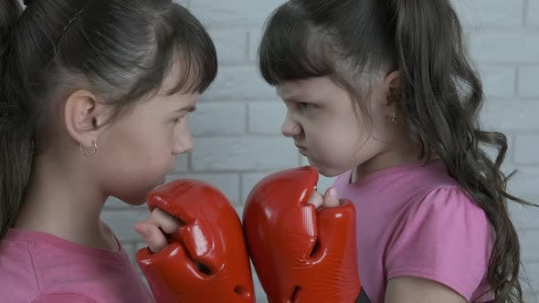 Box-Kinderwettbewerb.