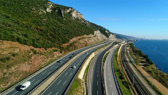 Cover Image for Aerial View Of Highway