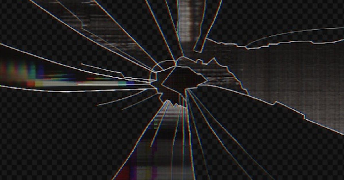 Broken Monitor Glitch