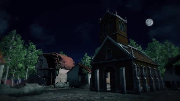 Abandoned Destroyed City