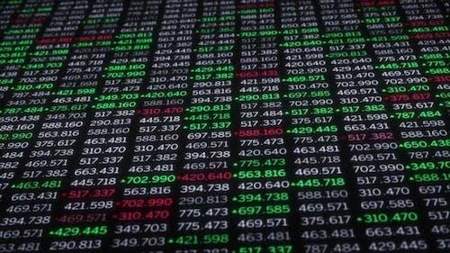 Marktcrash im Finanzsektor