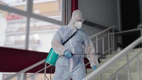 Sanitizing Indoor Areas to Prevent the Spread of COVID19