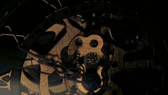 Thumbnail for Clock Mechanism. Close Up