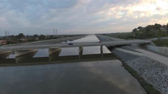 Thumbnail for Cars Over A Bridge