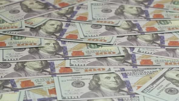 One Hundred Us Dollar Bills