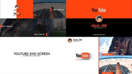 Youtube End Screen Promo