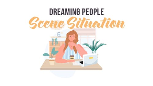 Dreaming people -  Scene Situation