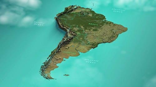 South America Map FC