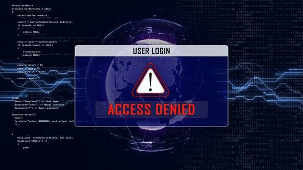 Access Denied and Connection Network