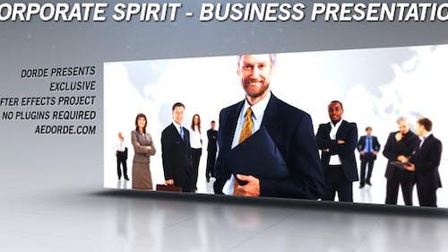 Corporate Spirit - Business Presentation / Gallery / Portfolio