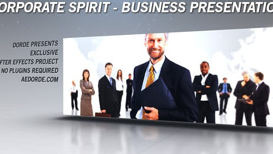 Thumbnail for Corporate Spirit - Business Presentation / Gallery / Portfolio