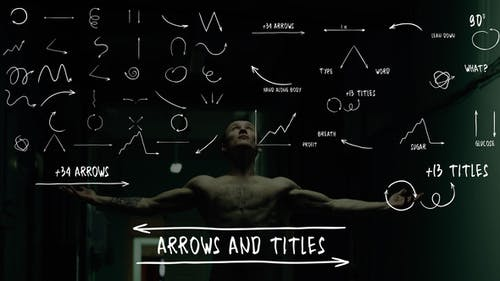 Arrows And Titles   After Effects