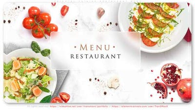 Oriental Cuisine Restaurant Menu