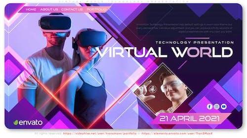 Virtual World Technology Presentation