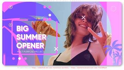 Summer Minimal Opener