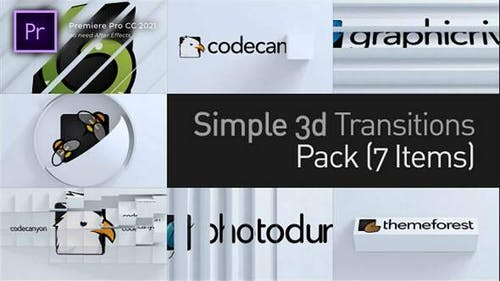 3d Simple Transitions (Openers) Pack
