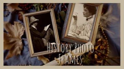 History Photo Frames Cinematic Opener