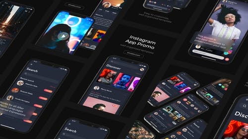 Mobile App Promo Instagram Stories