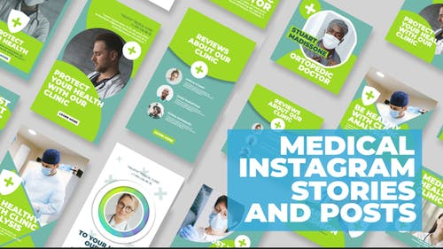 Medical Instagram Stories and Posts