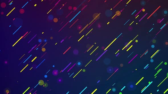 Thumbnail for Color Lines And Bubbles 4K