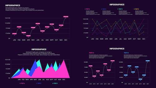 Customizable Line Infographics