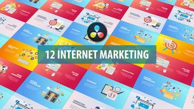 Internet Marketing Animation   DaVinci Resolve