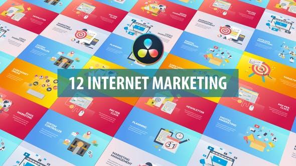 Internet Marketing Animation | DaVinci Resolve