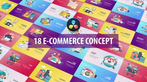 E-Commerce Concept Animation   DaVinci Resolve