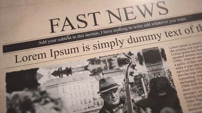 Fast News Promo