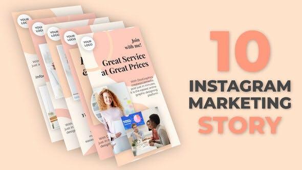 Instagram-Marketing-Story Pack