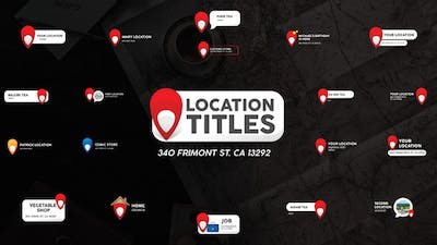 Location Titles | After Effects