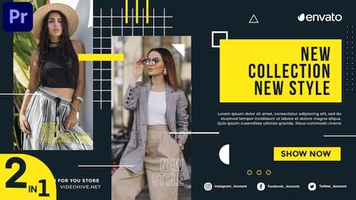 Fashion Promo Slideshow (MOGRT)