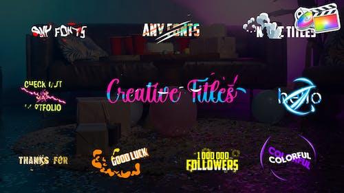 Creative Titles | FCPX