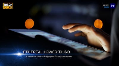 Ethereal Lower Thirds | MOGRT for Premiere Pro