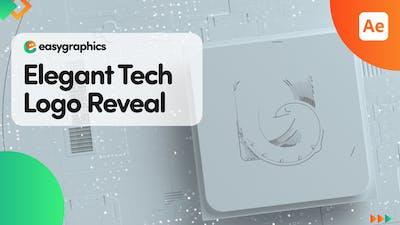 Elegant Tech Logo Reveal