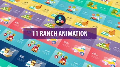 Ranch Animation | DaVinci Resolve