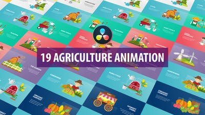 Agriculture Animation | DaVinci Resolve