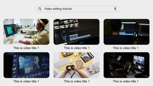 Search The Web Video