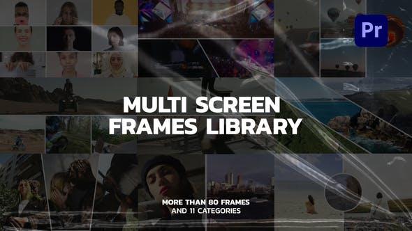 Multi Screen Frames for Premiere Pro