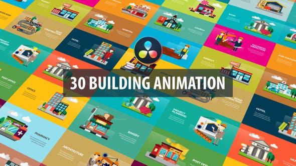 Building Animation   DaVinci Resolve