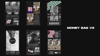Money Bag V5 - Instagram Stories