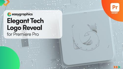 Elegant Tech Logo Reveal for Premiere Pro