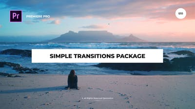 Simple Transitions Package For Premiere Pro