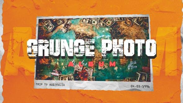 Grunge Photo Album