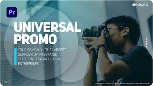 Universal Promo For Premiere Pro
