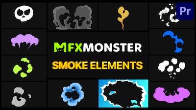 Cartoon Smoke   Premiere Pro MOGRT