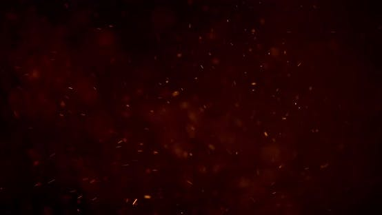 Particles Abstract Background