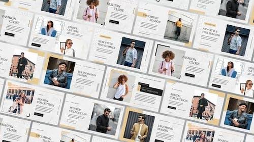 Fashion E-commerce Slides