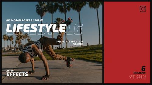 Lifestyle Instagram Post & Stories B78